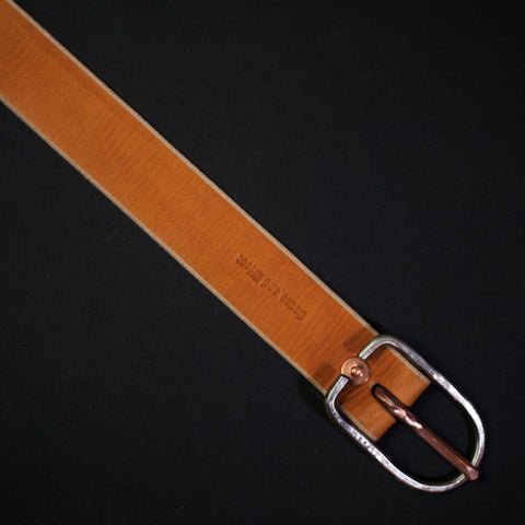 Cause and Effect Silverlake Tan Leather Men's Belt at The Lodge