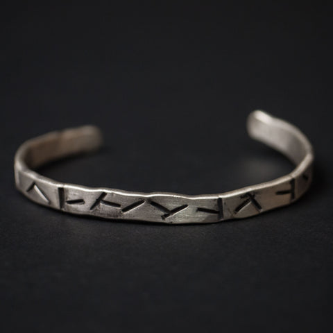Cause & Effect Sterling Silver Cigars Metal Bracelet at The Lodge