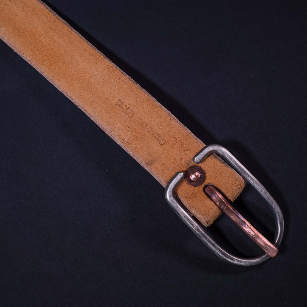 Cause & Effect Tan Suede Leather Men's Belt at The Lodge