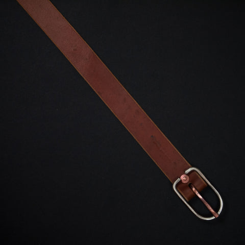 Cause & Effect Weathered Tan Leather Men's Belt at The Lodge
