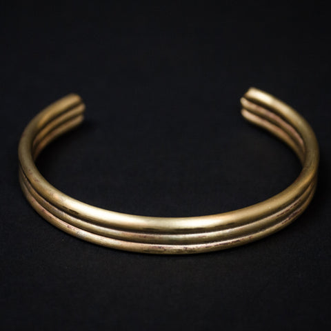 Cause Effect Three Amigos Brass Bracelet at The Lodge