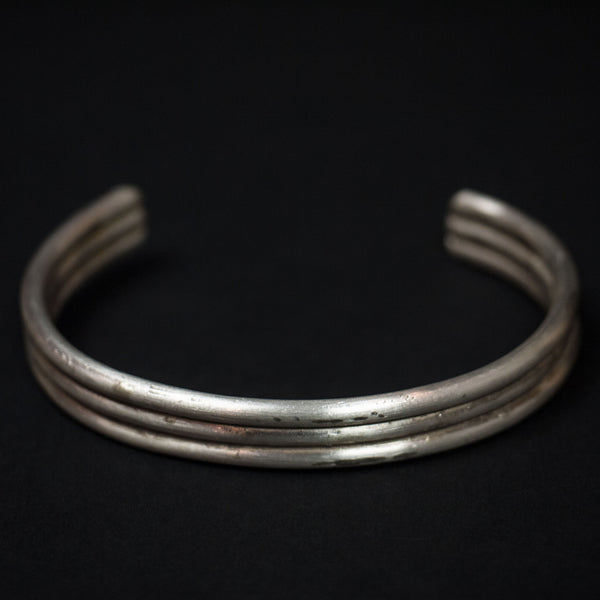 Cause Effect Three Amigos Stacked Sterling Silver Bracelet at The Lodge