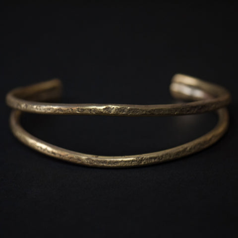 Cause & Effect Brass Whales Mouth Cuff Bracelet at The Lodge