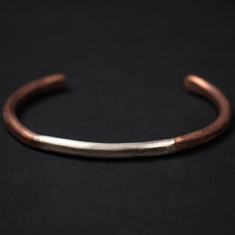 Cause & Effect Copper with Sterling Silver Bracelet at The Lodge