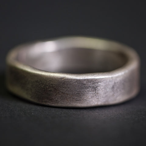 Cause & Effect Ashe Sterling Silver Men's Ring at The Lodge