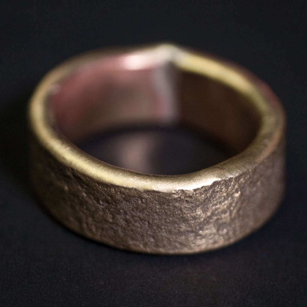BRASS BUCKLEY RING
