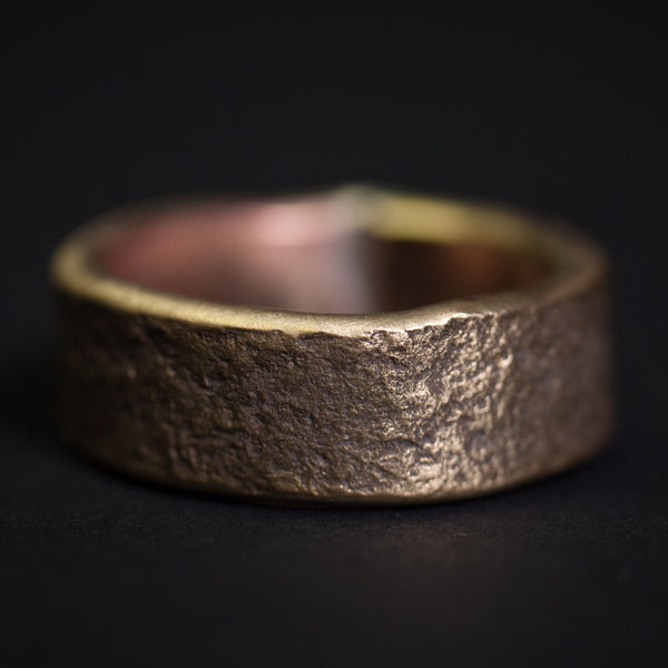 Cause & Effect Brass Buckley Men's Ring at The Lodge