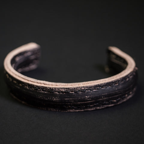 Cause & Effect Moto Leather Bracelet Black at The Lodge