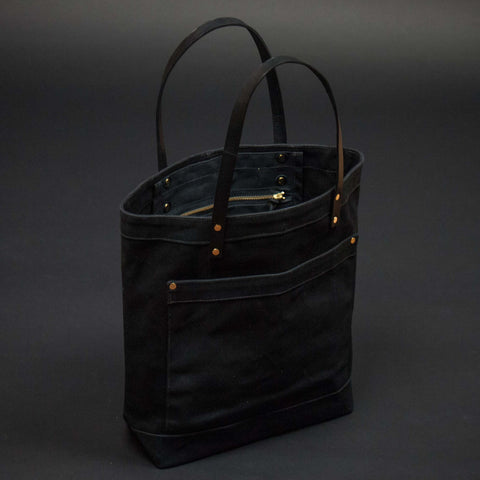 Chester Wallace Master Shop Tote Black at The Lodge