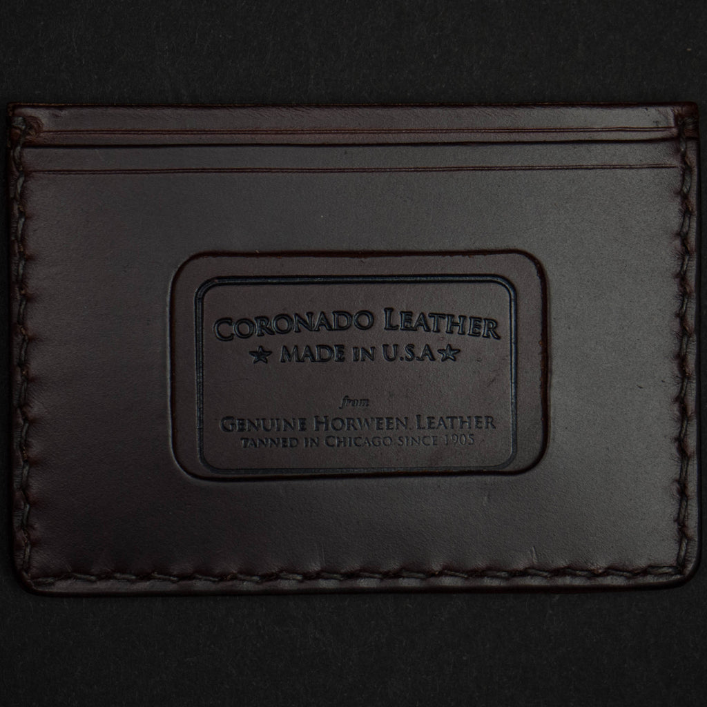 BROWN HORWEEN CORONADO CARD CASE WALLET - THE LODGE  - 3
