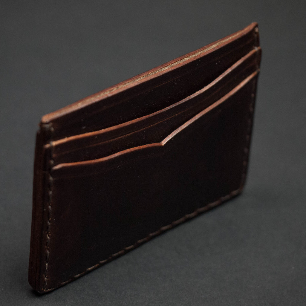 BROWN HORWEEN CORONADO CARD CASE WALLET - THE LODGE  - 2
