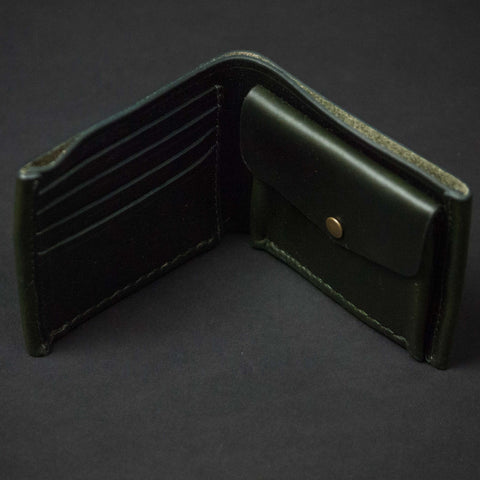 MOSS CORONADO COIN BILLFOLD HORWEEN LEATHER- LIMITED EDITION - THE LODGE  - 1
