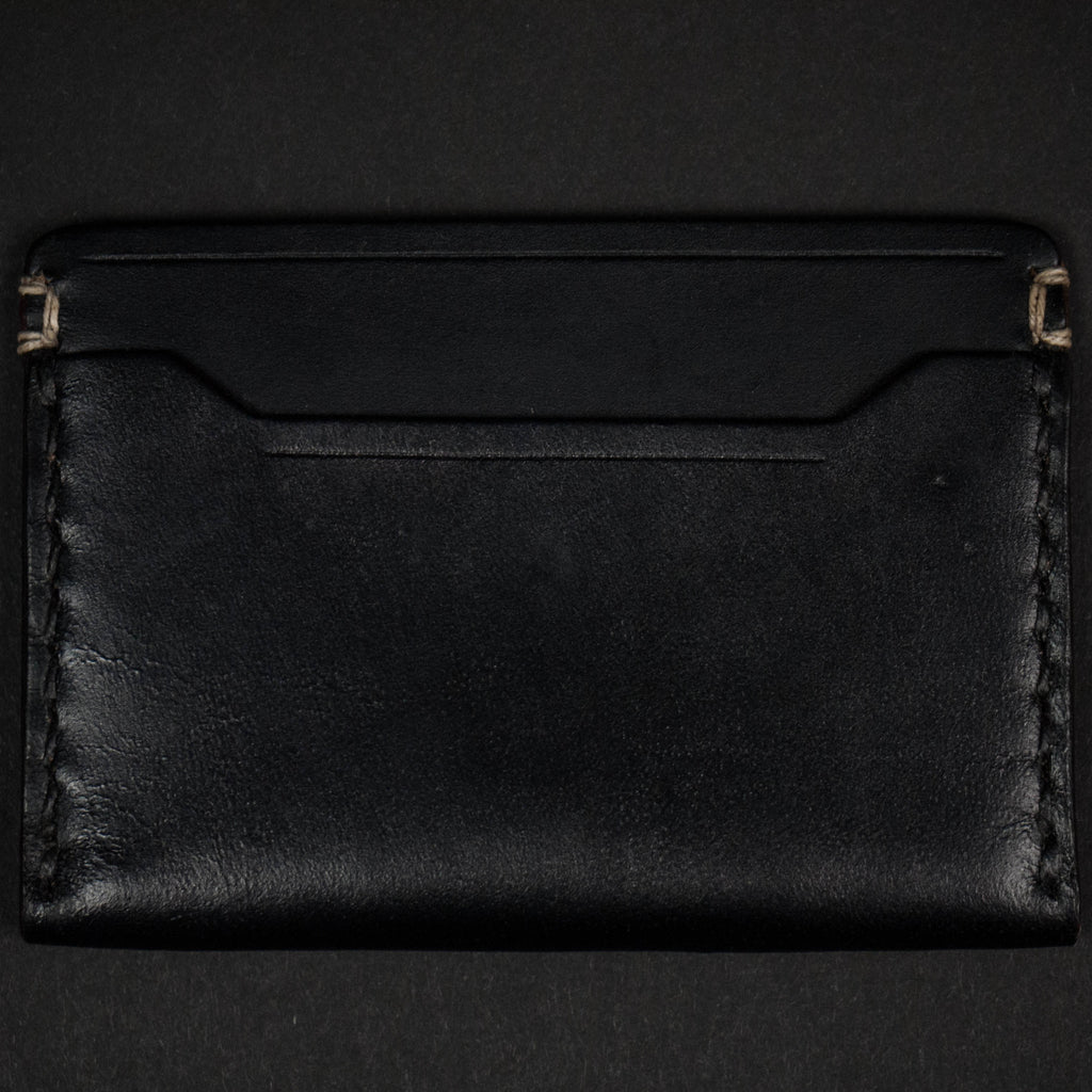 CORONADO SLIM CARD WALLET #10 BLACK HORWEEN - THE LODGE  - 3