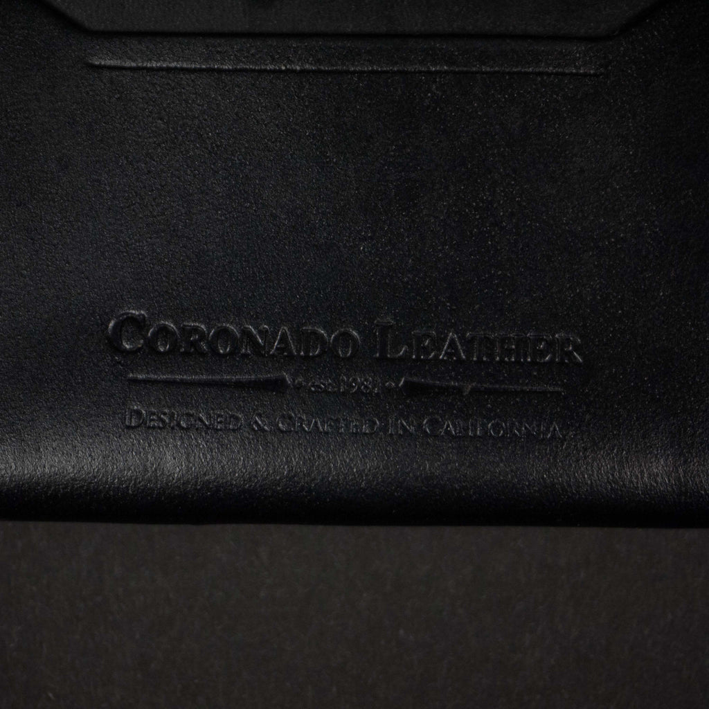CORONADO SLIM CARD WALLET #10 BLACK HORWEEN - THE LODGE  - 4
