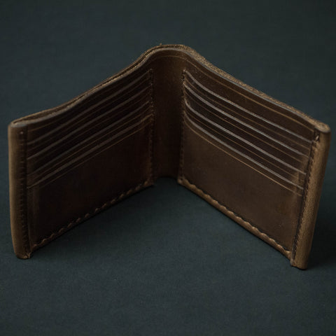 CORONADO BILLFOLD CARD WALLET NATURAL HORWEEN - THE LODGE  - 1