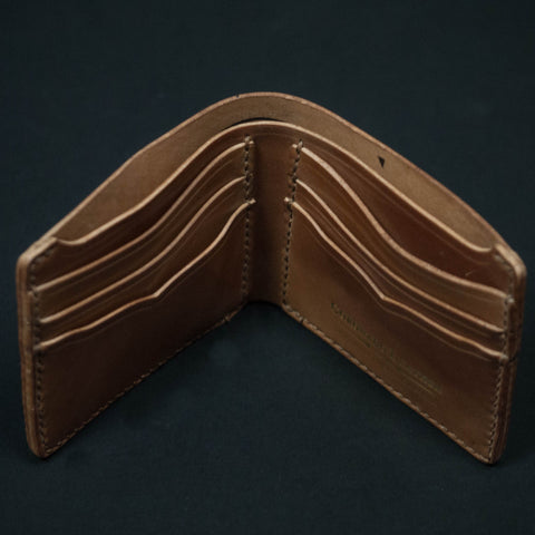 CORONADO NATURAL SHELL CORDOVAN BILLFOLD - THE LODGE  - 1