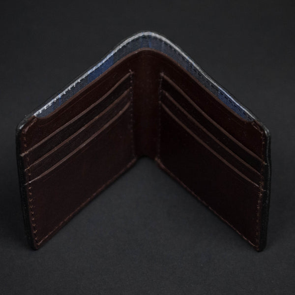 CORONADO BLACK BISON LEATHER BILLFOLD - THE LODGE  - 3