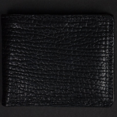 CORONADO BLACK BISON LEATHER BILLFOLD - THE LODGE  - 1