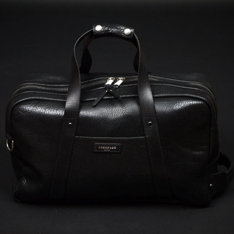 Coronado Leather Black Bison Weekend Duffel at The Lodge