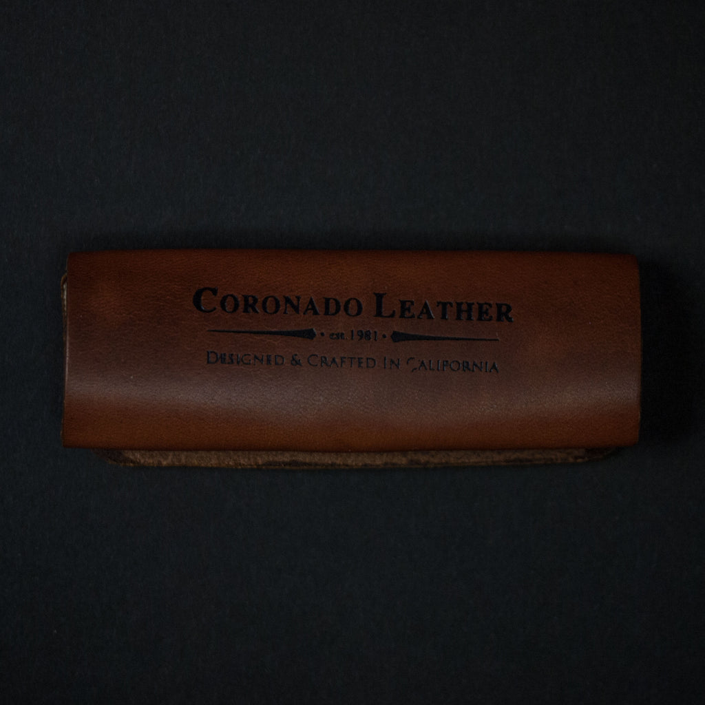 TAN HORWEEN LEATHER CORD ORGANIZER CORONADO LEATHER