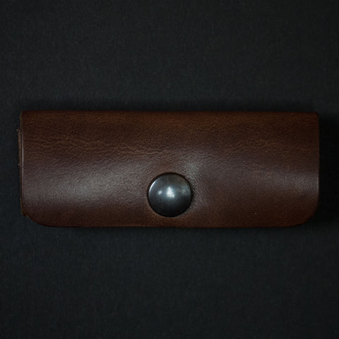 BROWN HORWEEN LEATHER CORD ORGANIZER CORONADO LEATHER