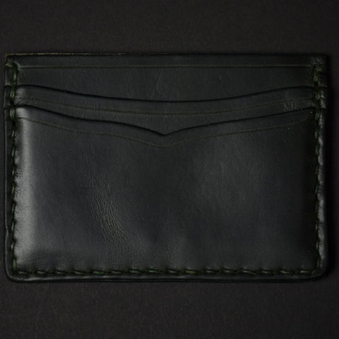 MOSS CORONADO CARD CASE WALLET HORWEEN LEATHER - THE LODGE  - 1