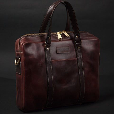 CORONADO PROSPECT BRIEF BROWN HORWEEN LEATHER - THE LODGE  - 1