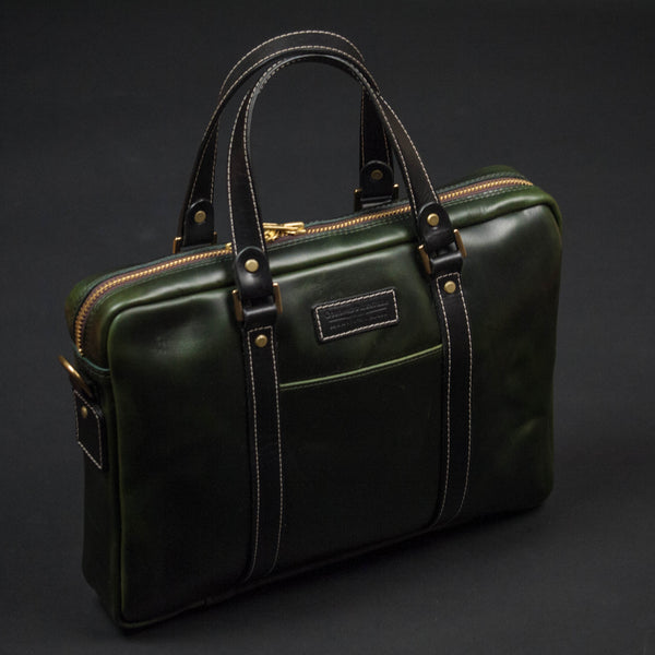 CORONADO MOSS GREEN HORWEEN LEATHER PROSPECT BRIEF - THE LODGE  - 1