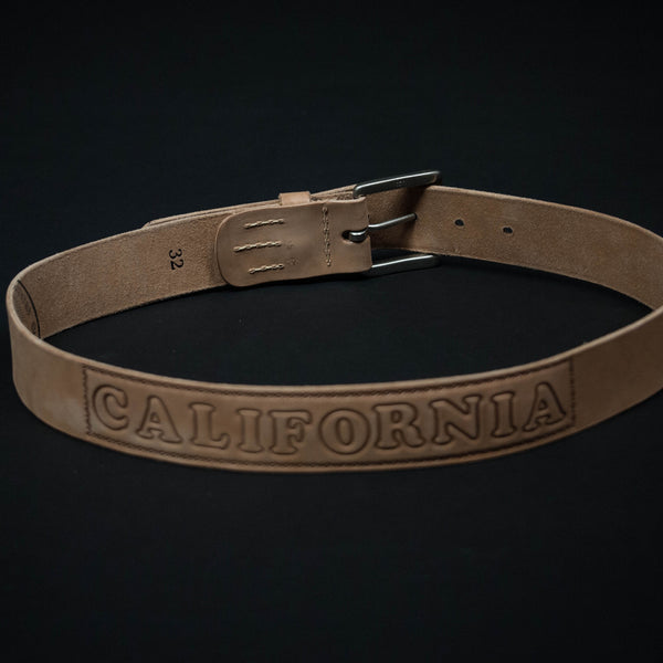 CORONADO TOOLED CALIFORNIA BELT NATURAL - THE LODGE  - 1