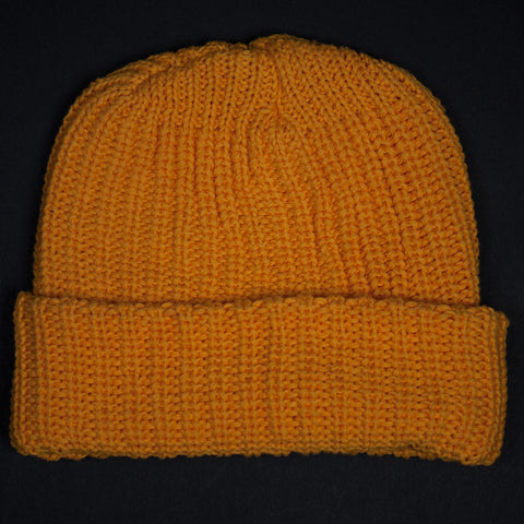 ADIRONDACK GOLD COTTON KNIT CAP - THE LODGE  - 1