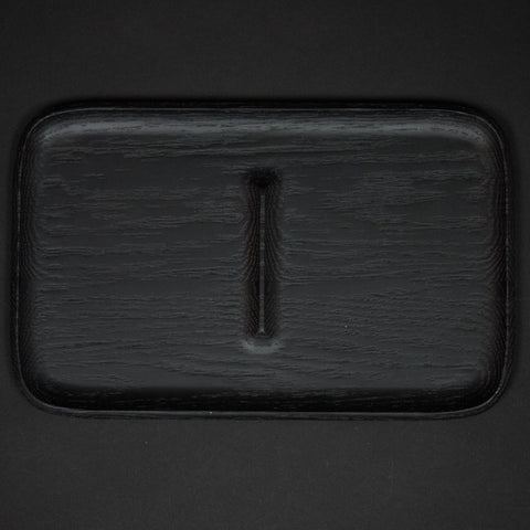 Craighill Large Wood Valet Tray Black at The Lodge