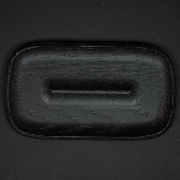 Craighilll Small Wood Valet Tray Black at The Lodge