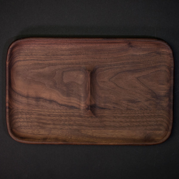 Craighill Large Walnut Valet Tray at The Lodge Man Shop