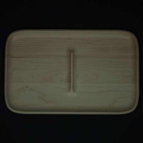 Craighill Large Wood Maple Valet Tray at The Lodge