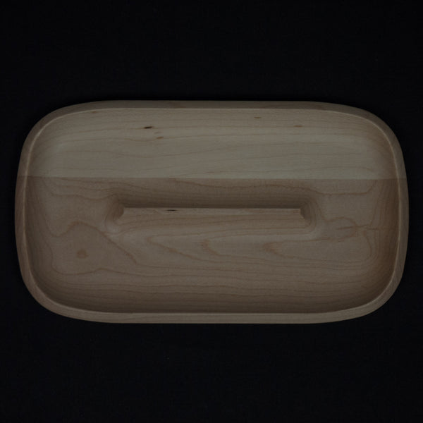 Craighill Small Wood Valet Tray Maple at The Lodge