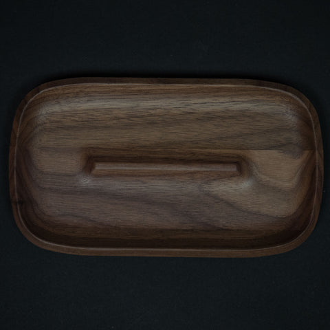 Craighill Small Wood Valet Tray Walnut at The Lodge