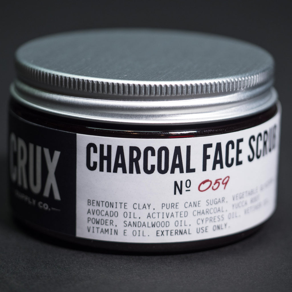 Crux Charcoal Face Scrub at The Lodge