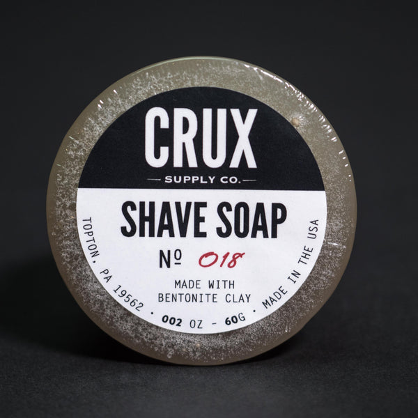 Crux Shave Soap at The Lodge