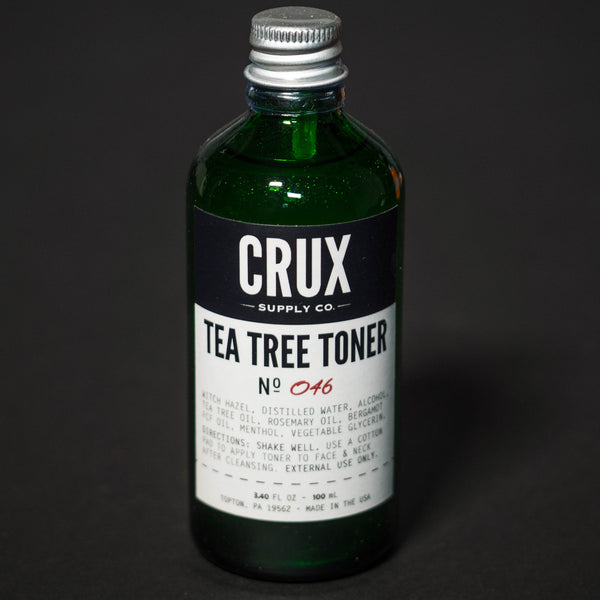 Crux Supply Tea Tree Toner at The Lodge