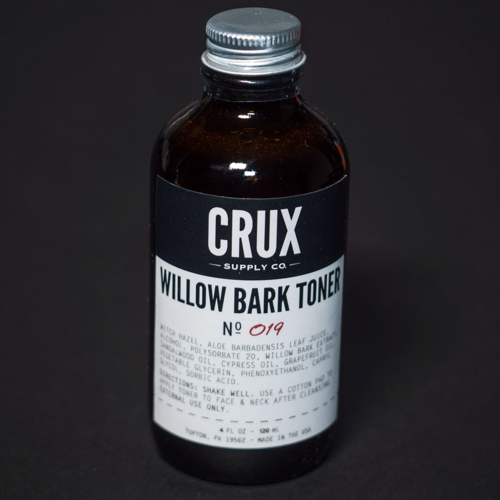 Crux Willow Bark Toner at The Lodge