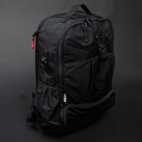 DSPTCH Black Gym/Work Backpack at The Lodge