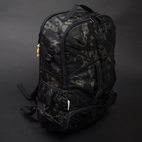 DSPTCH Black Camo Gym/Work Backpack at The Lodge