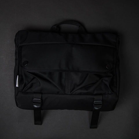 DSPTCH BLACK SHOULDER BAG