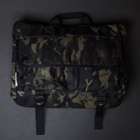 DSPTCH BLACK CAMO SHOULDER BAG