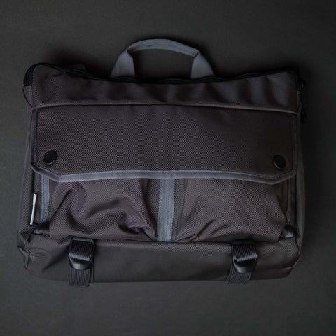 DSPTCH GREY SHOULDER BAG