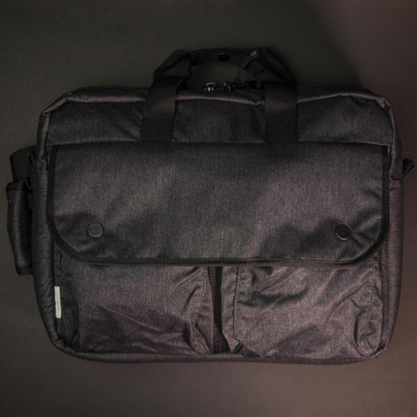 DSPTCH Utility Briefcase Charcoal Twill at The Lodge