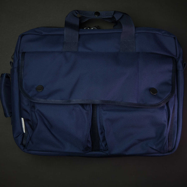 DSPTCH Navy Utility Briefcase at The Lodge