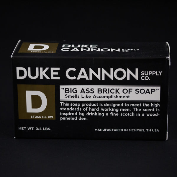 DUKE CANNON BIG ASS BRICK OF SOAP- ACCOMPLISHMENT - THE LODGE  - 1