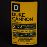 DUKE CANNON 2-IN-1 HARD WORKING CLEAN HAIRWASH - THE LODGE  - 2