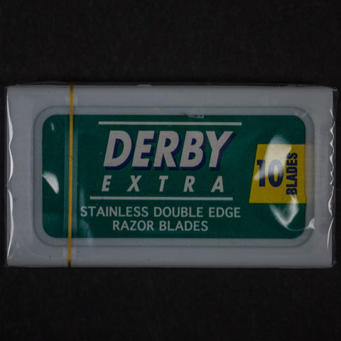 10 STEEL DERBY BLADES FOR SAFETY RAZORS - THE LODGE  - 1